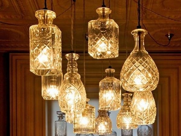 Remarkable High Quality Liquor Bottle Pendant Lights With Regard To Best 20 Liquor Bottle Lights Ideas On Pinterest Liquor Bottle (Image 18 of 25)