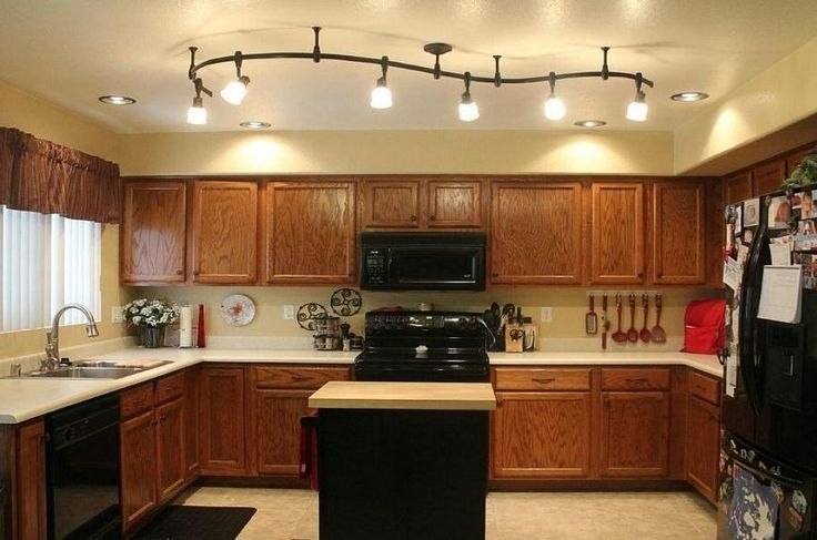 Remarkable Popular Corded Track Lighting Inside Luxury Track Lights For Kitchen Ceiling 86 On Corded Track (Image 18 of 25)
