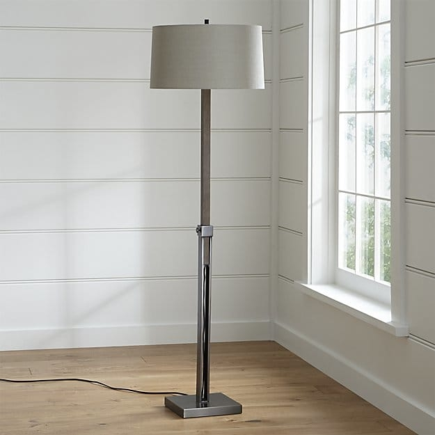 Remarkable Popular Crate And Barrel Lighting For Denley Bronze Floor Lamp Crate And Barrel (Image 18 of 25)