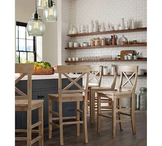 Remarkable Popular Paxton Pendant Lights With Regard To Paxton Glass 3 Light Pendant Pottery Barn (View 13 of 25)