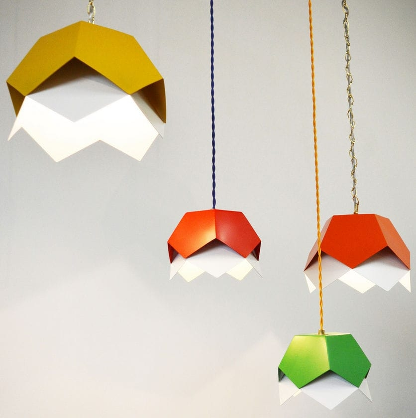 Remarkable Preferred Dodecahedron Pendant Lights With Pendant Lamp Contemporary Led Orange Dodecahedron (Image 20 of 25)