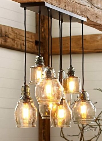 Remarkable Preferred Glass Jug Light Fixtures Within Top 25 Best Rustic Pendant Lighting Ideas On Pinterest Kitchen (Image 20 of 25)