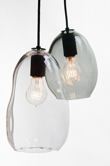 Remarkable Preferred Hand Blown Glass Pendant Lights For Hand Blown Bubble Glass Pendant Light (Image 17 of 25)