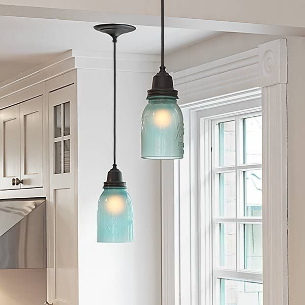 Remarkable Preferred Mason Jar Pendant Lamps Regarding Best 25 Mason Jar Pendant Light Ideas On Pinterest Diy Pendant (Photo 6 of 25)