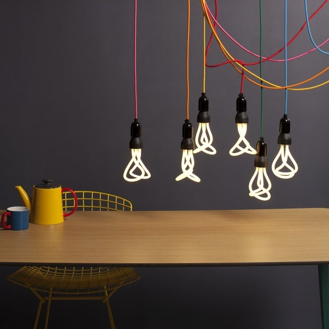 Remarkable Preferred Nud Classic Pendant Lights With Classic Cord Socket Nud With Plumen Bulbs In My Room (Image 22 of 25)
