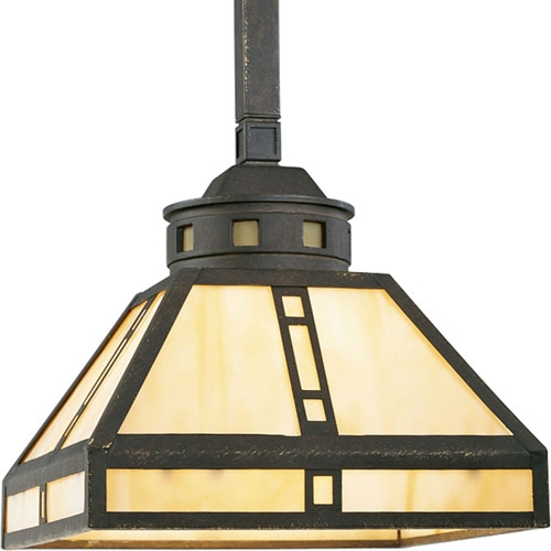 Remarkable Series Of Arts And Crafts Pendant Lighting With Regard To Mission Mini Pendant Lighting Mission Style Mini Pendants Bellacor (View 9 of 25)