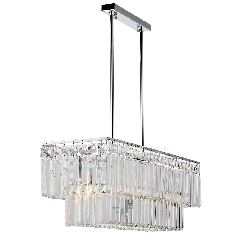 Remarkable Series Of Black Pendant Light With Crystals Inside Crystal Material Silver Fixture Hardware Clear Glass Pendant Lights (Image 19 of 25)