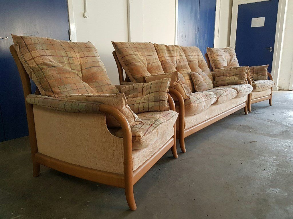Remarkable Series Of Cintique Fabric Chairs For Cintique Modena Fabric Set 3 Seater Sofa Settee Suite  (Image 12 of 15)