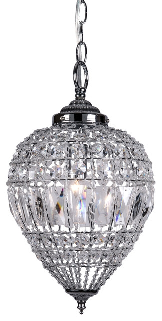 Remarkable Top Black Pendant Light With Crystals In Crystal Mini Pendant Lights Houzz (Image 20 of 25)