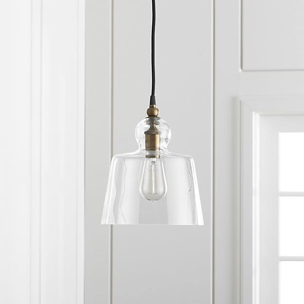 Remarkable Top Crate And Barrel Pendants In Lander Brass Pendant Light Crate And Barrel (Image 23 of 25)