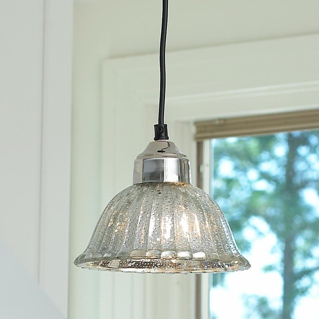 Remarkable Top Mercury Glass Pendant Lights Throughout Mercury Glass Pendant Light Roselawnlutheran (View 16 of 25)