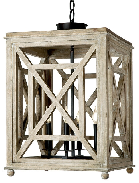 Remarkable Trendy Beachy Pendant Lighting Pertaining To Cedros Coastal Beach Weathered White Wood Lantern Pendant Beach (Image 21 of 25)