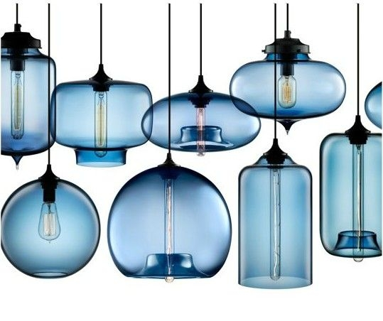 Remarkable Trendy Turquoise Blue Glass Pendant Lights Regarding Best 20 Blue Pendant Light Ideas On Pinterest Blue Light Bar (Image 21 of 25)