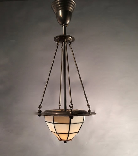 Remarkable Unique Arts And Crafts Pendant Lighting For Genuine Antique Lighting Set 4 Arts And Crafts Pendants With (View 10 of 25)