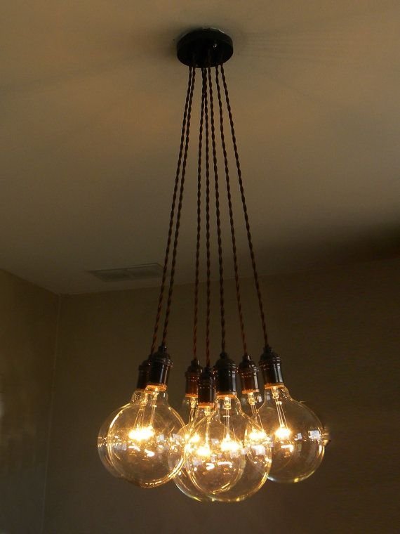 Remarkable Unique Bare Bulb Cluster Pendants Intended For Best 25 Cluster Lights Ideas Only On Pinterest Unique Lighting (Image 19 of 25)