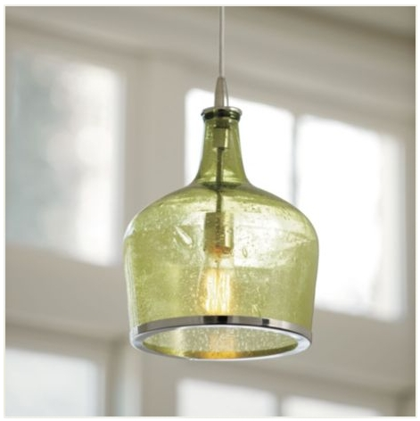 Remarkable Variety Of Wine Bottle Pendants Throughout Wine Bottle Pendant Light Hbwonong (Image 20 of 25)
