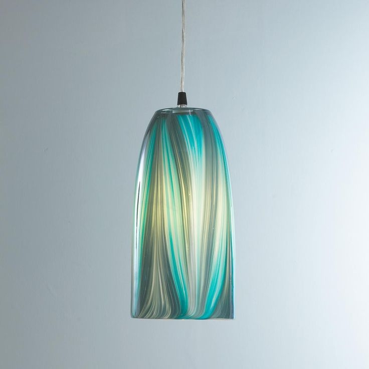 Remarkable Wellknown Aqua Glass Pendant Lights With Regard To 170 Best Turquoiseteal Aqua Images On Pinterest (View 11 of 25)