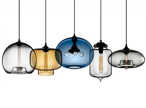 Remarkable Well Known Mexican Pendant Lights Inside Flodeau Handblown Glass Lighting Rothschild Bickers  (Image 18 of 25)