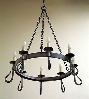 Remarkable Well Known Wrought Iron Light Fittings Within 527 Best Lamparas Y Candelabros En Hierro Images On Pinterest (View 23 of 25)