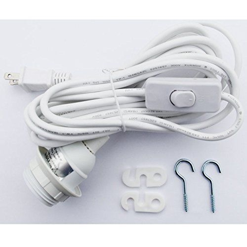 Remarkable Wellliked Pendant Light Extension Kits Pertaining To Paper Lantern Lamp Kit Swag Hanging Plug In On Off Switch Light (Image 21 of 25)