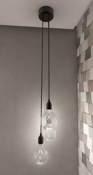 Remarkable Wellliked Three Light Bare Bulb Pendants In Best 25 Bathroom Light Shades Ideas On Pinterest Bathroom (Image 19 of 25)