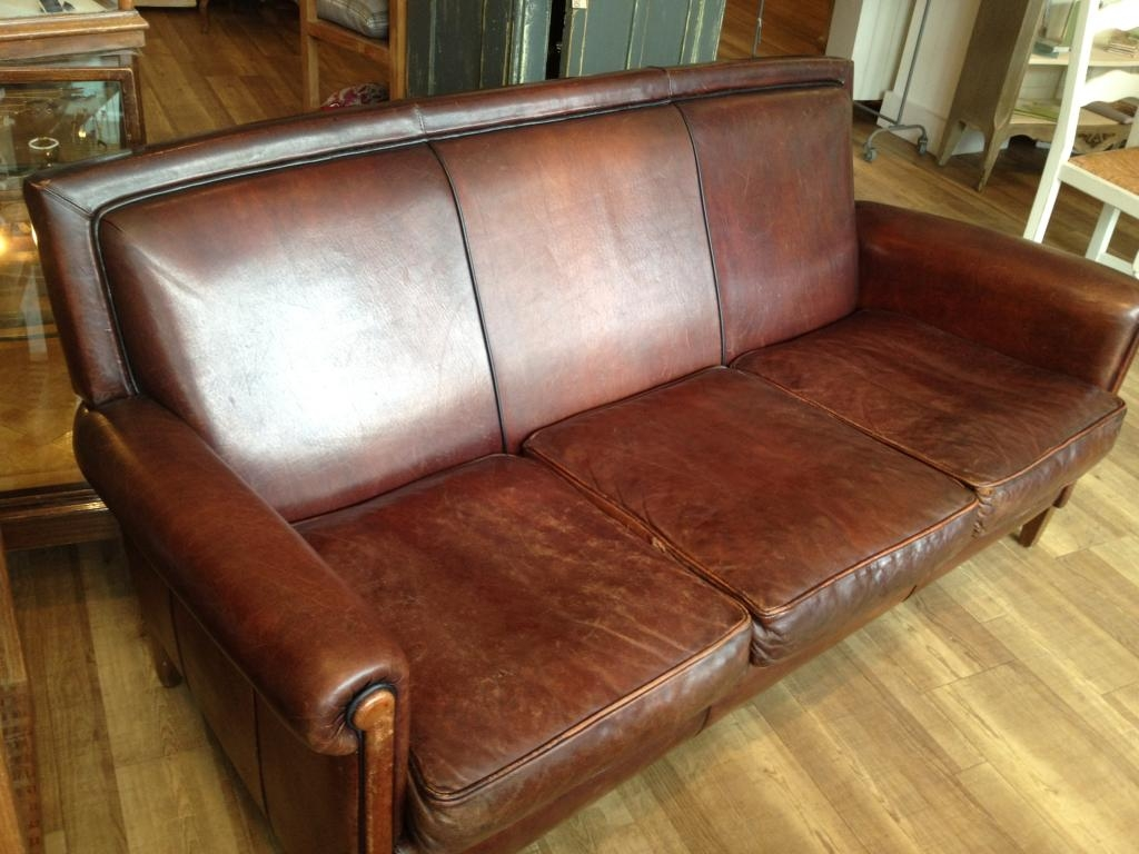 Retro Leather Sofas Uk Modern Sofas With Regard To 1930s Sofas (Image 8 of 15)