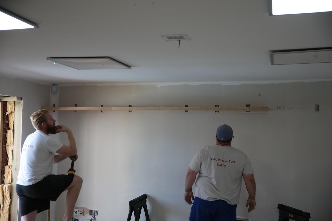 Revks Rants Floating Shelves In Shelves On Plasterboard (Image 12 of 15)