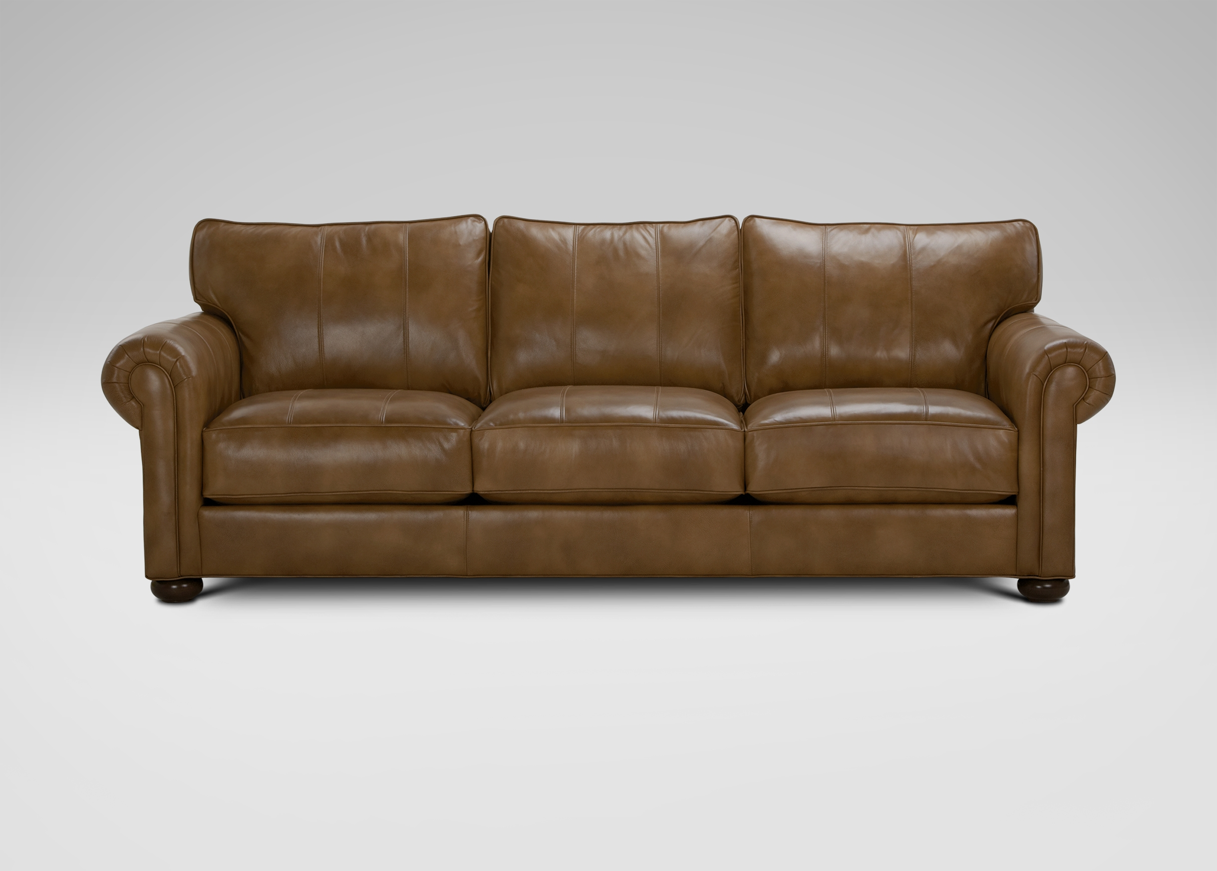 Richmond Leather Sofa Sofas Loveseats Regarding Ethan Allen Sofas And Chairs (Image 12 of 15)
