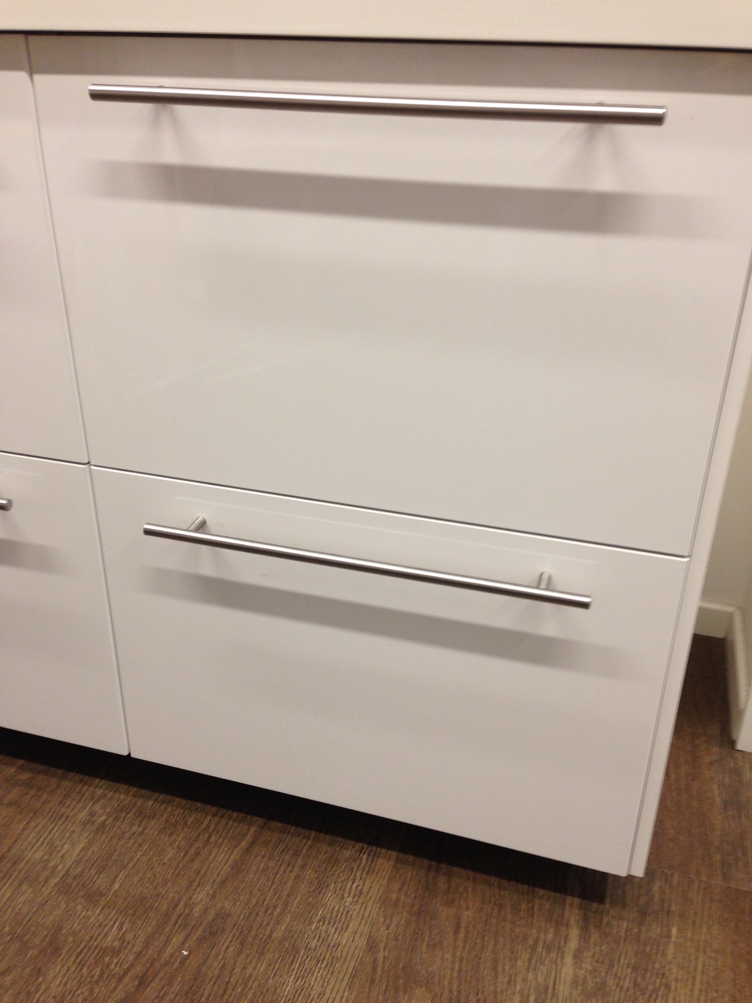 Ringhult Kitchen Cupboard Doors From Ikea In Gloss White With T Regarding White Kitchen Cupboard Doors (Image 24 of 25)