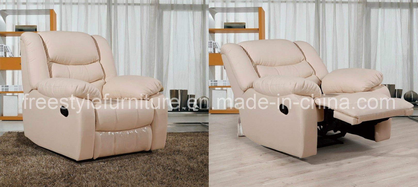 Rocking Sofa Chair Dorel Home Padded Massage Rocker Recliner For Regarding Rocking Sofa Chairs (Image 7 of 15)