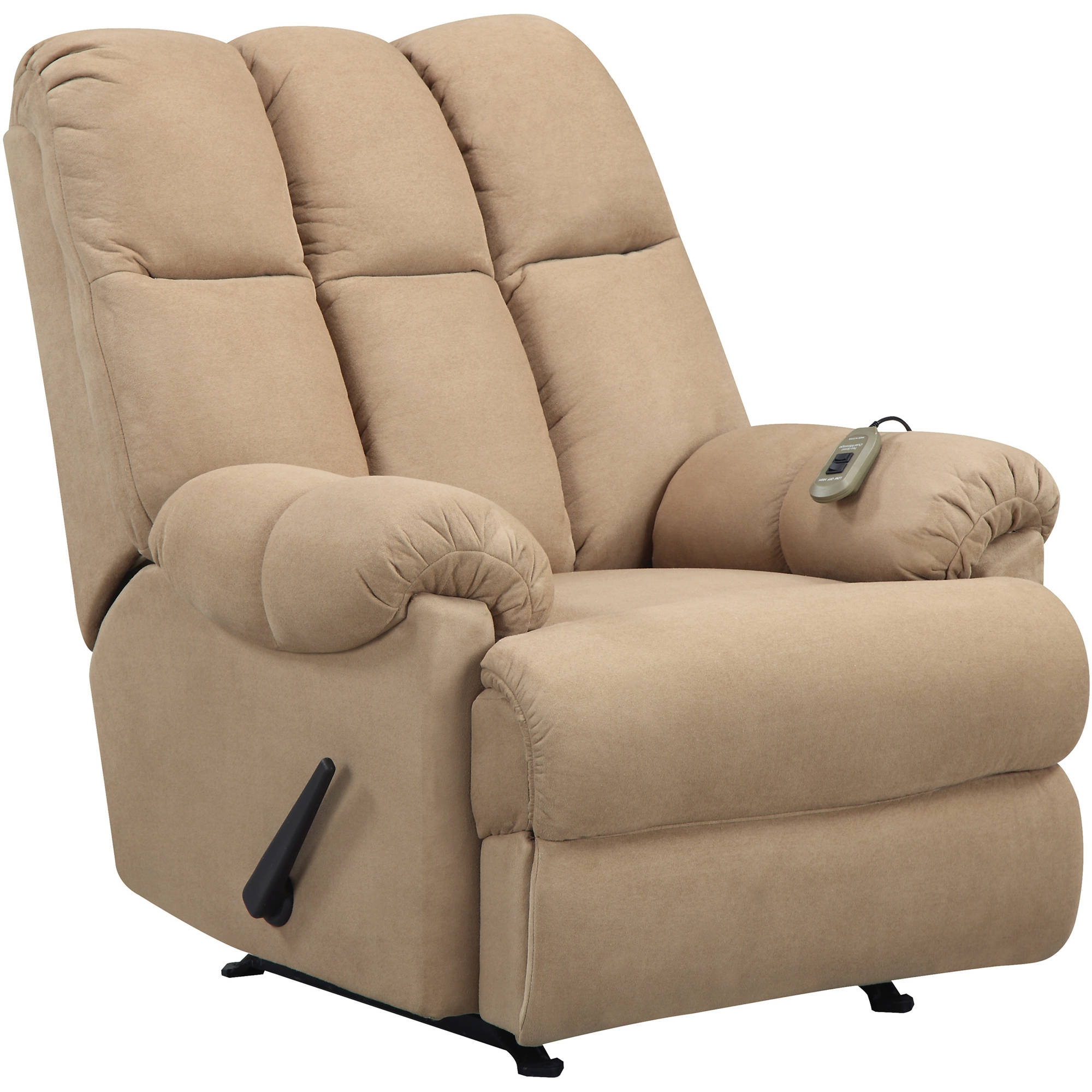 Rocking Sofa Chair Dorel Home Padded Massage Rocker Recliner With Regard To Rocking Sofa Chairs (Image 8 of 15)