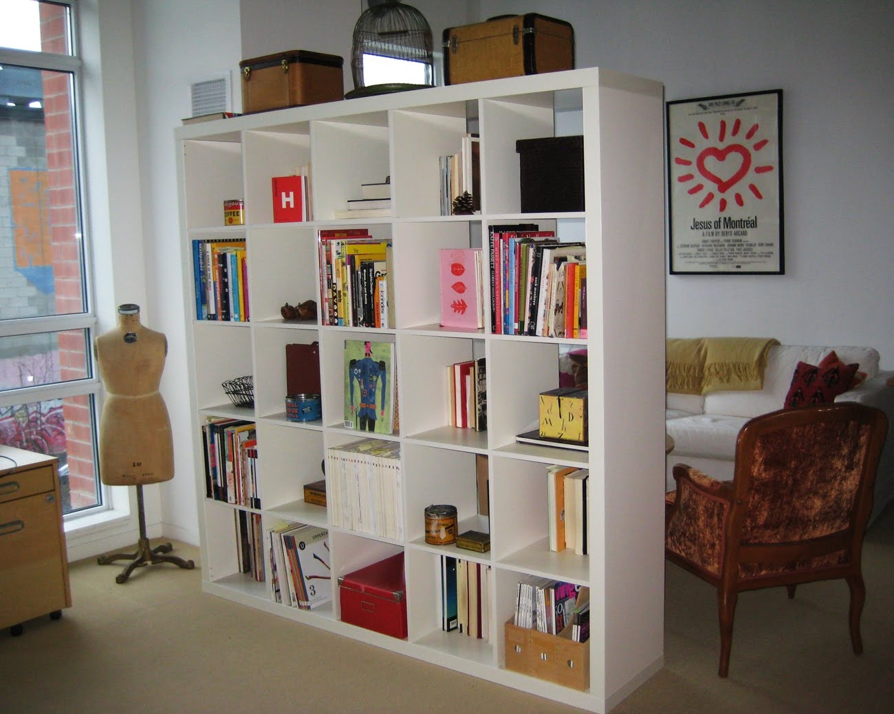 Room Divider Bring Cozy To Your Space With Bookshelf Room Divider In Room Curtain Divider IKEA (Image 22 of 25)