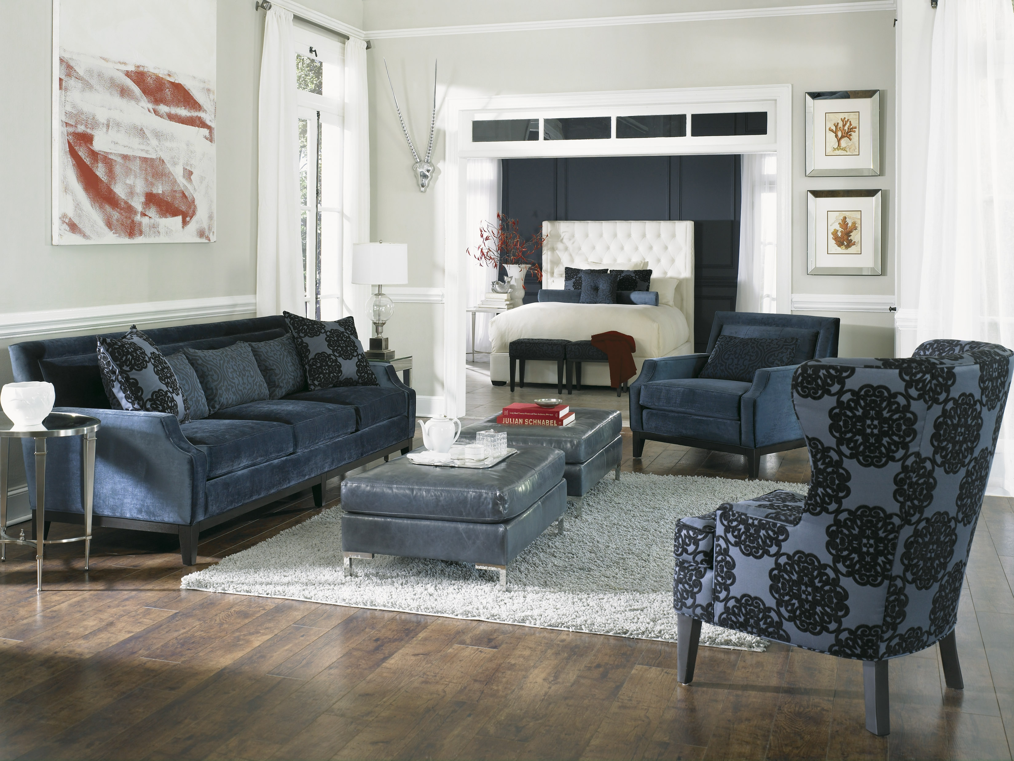 Rossdale Sofa Loveseat Chair Ottoman Accent Chairs Intended For Casual Sofas And Chairs (Image 13 of 15)