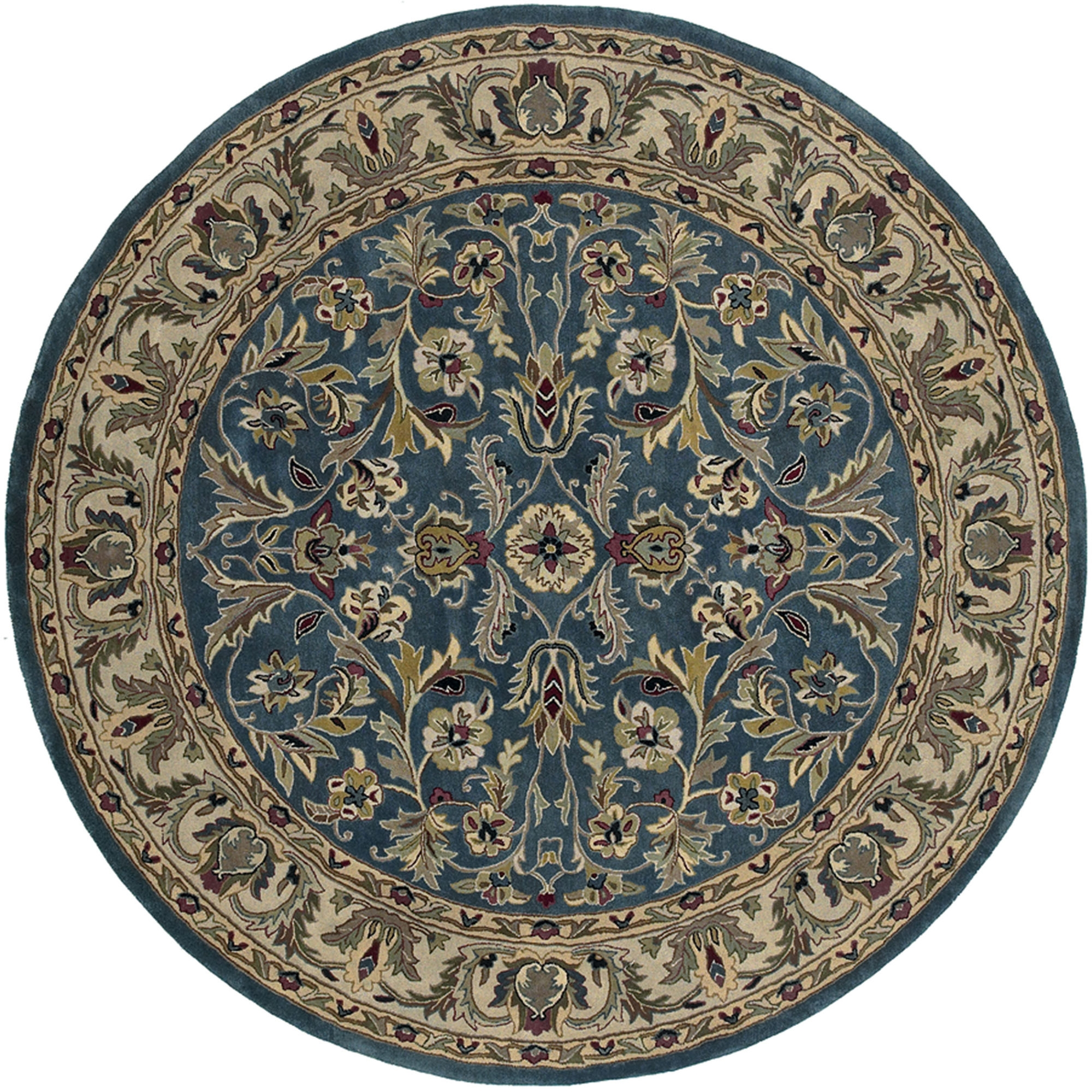 Round Carpet Rugs Home Decors Collection Throughout Circular Carpets (Image 6 of 15)
