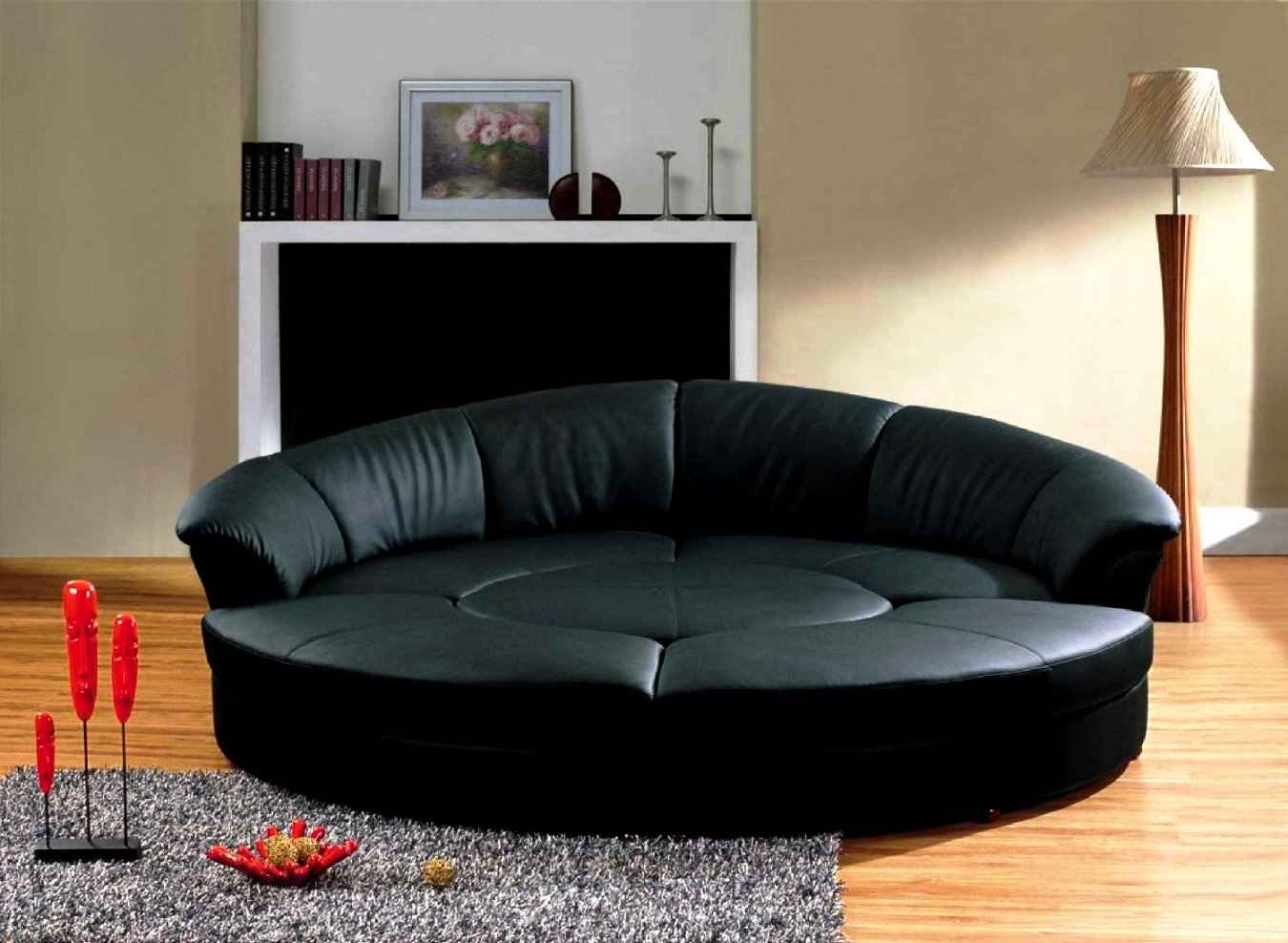 Round Couch Regarding Circle Sofa Chairs (Image 8 of 15)