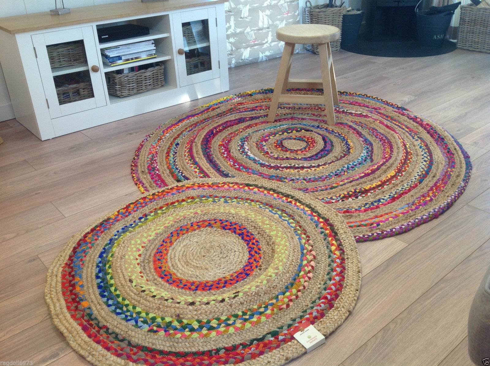 Round Rug Uk Roselawnlutheran Inside Rounds Rugs (Image 6 of 15)