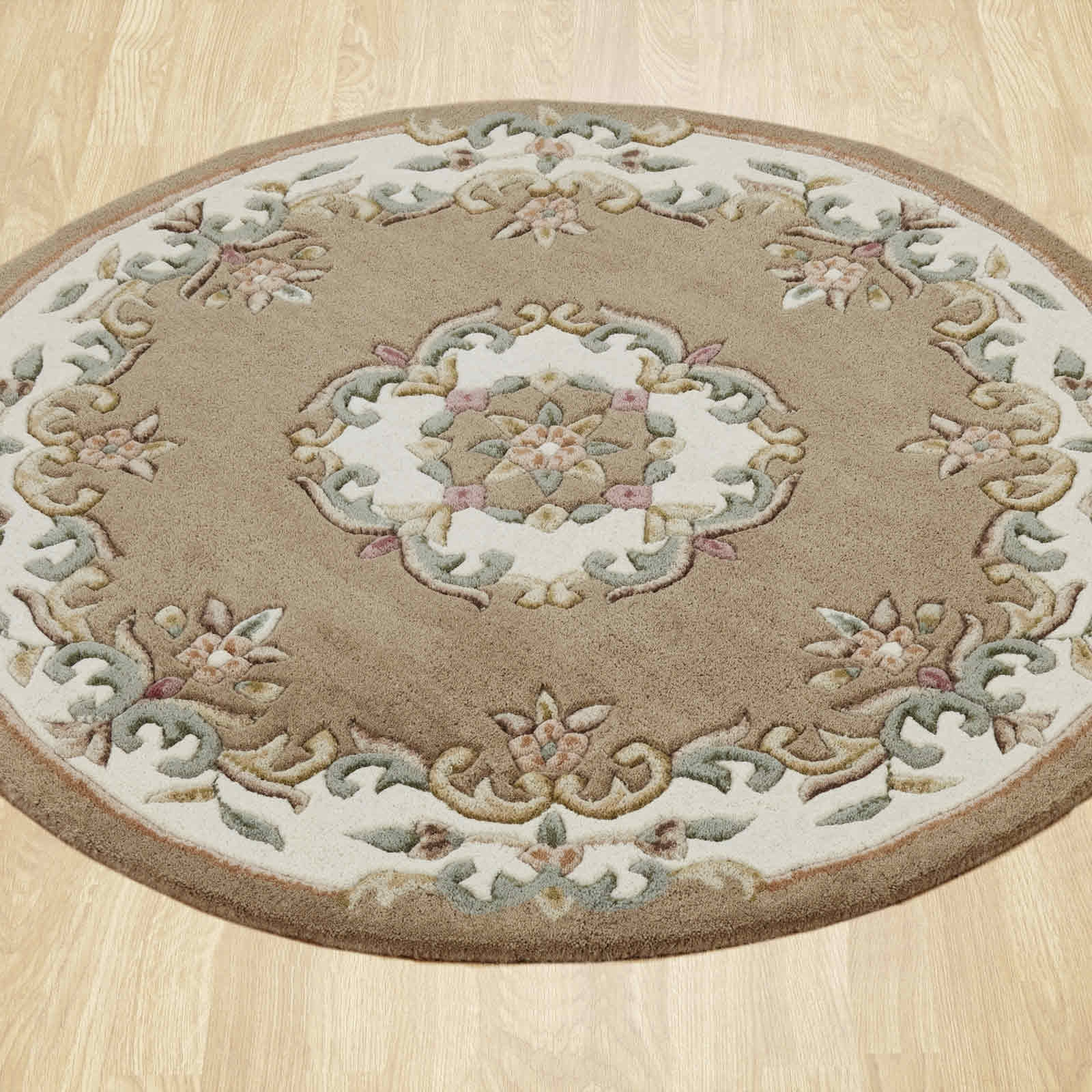 Round Rugs Uk Roselawnlutheran Throughout Rounds Rugs (Image 13 of 15)