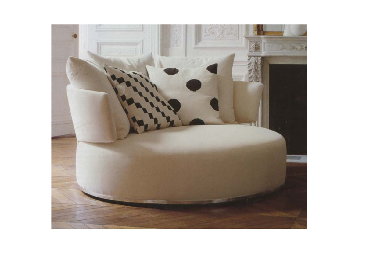 Round Sofa Chair Throughout Circular Sofa Chairs (Image 7 of 15)