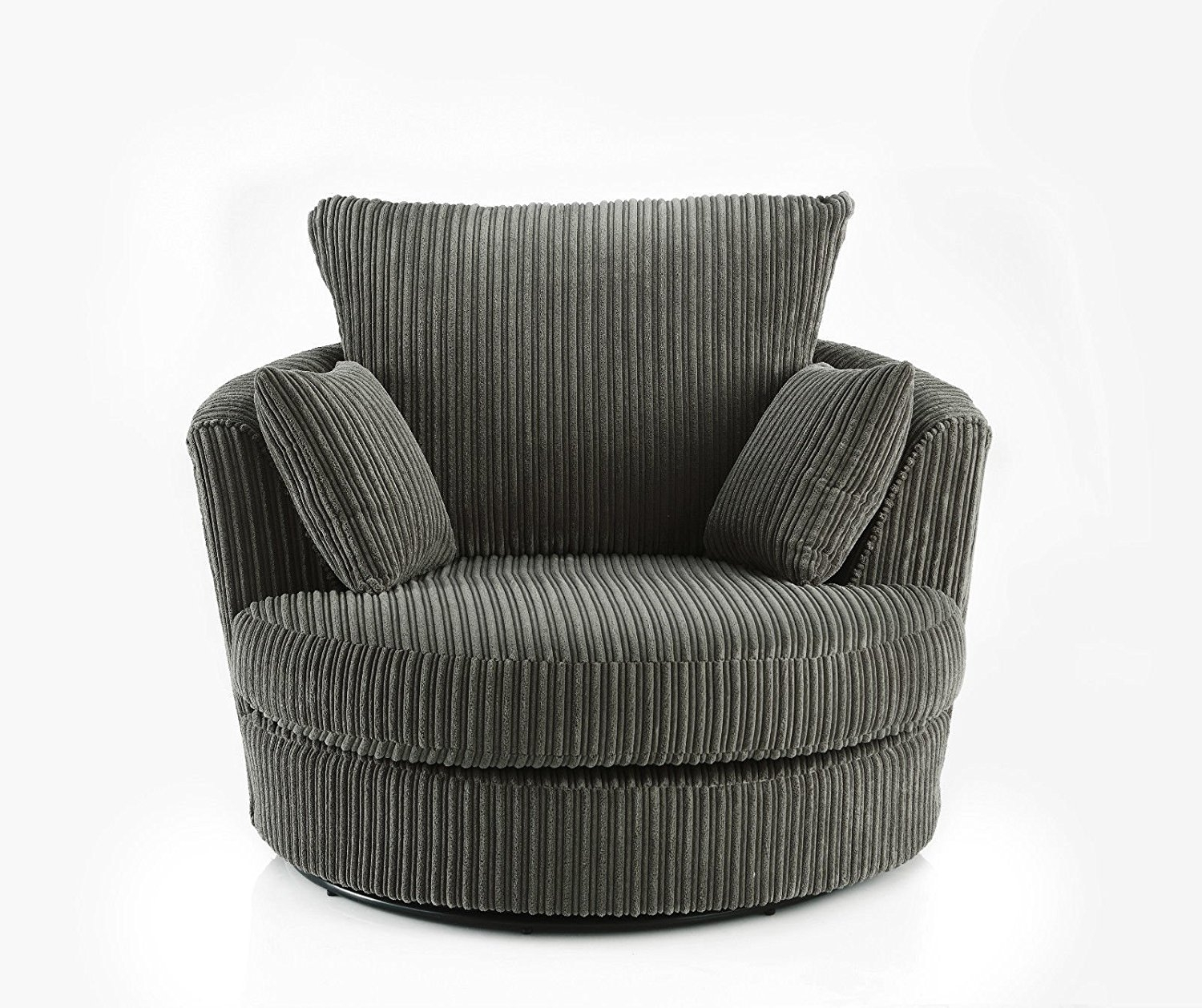 Round Swivel Snuggle Chair Home Chair Designs Within Snuggle Sofas (Image 6 of 15)
