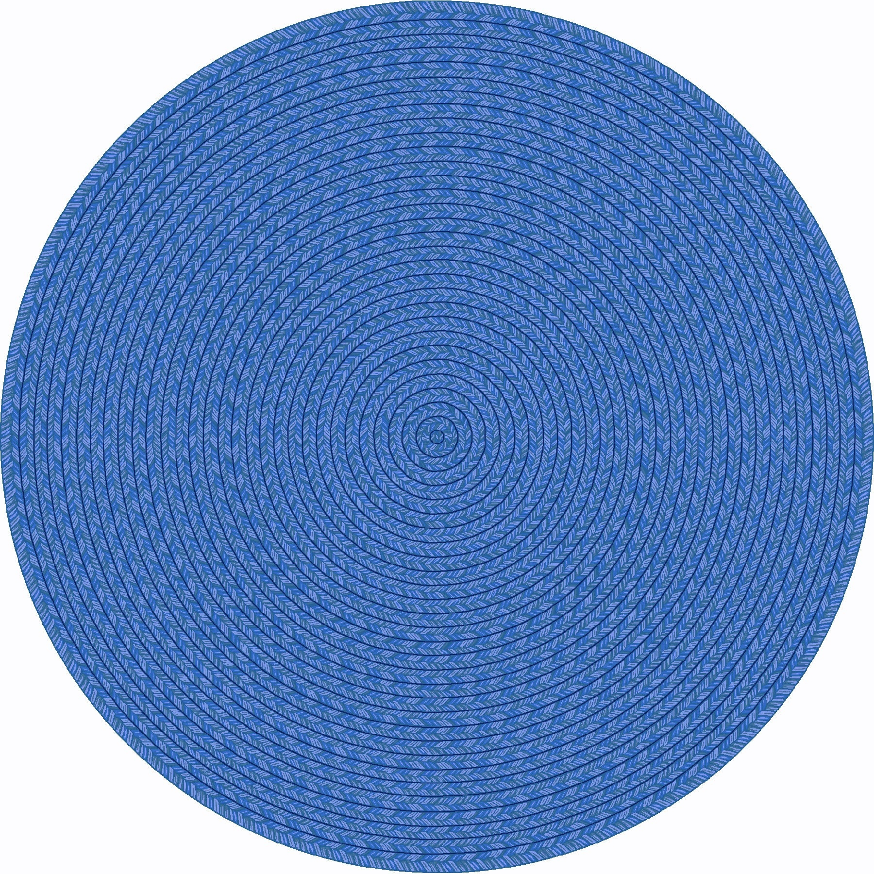 Rug Blue Round Rug Wuqiangco Inside Circular Carpets (Image 13 of 15)