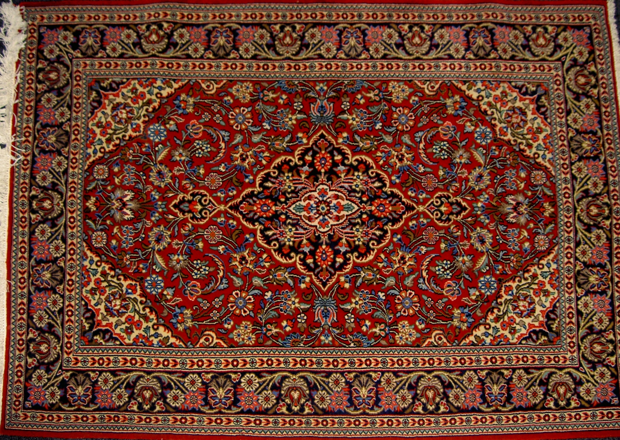 Rug From Qom Iran Design Lachak And Toranj Persiaqom Intended For Persian Rugs (Image 14 of 15)