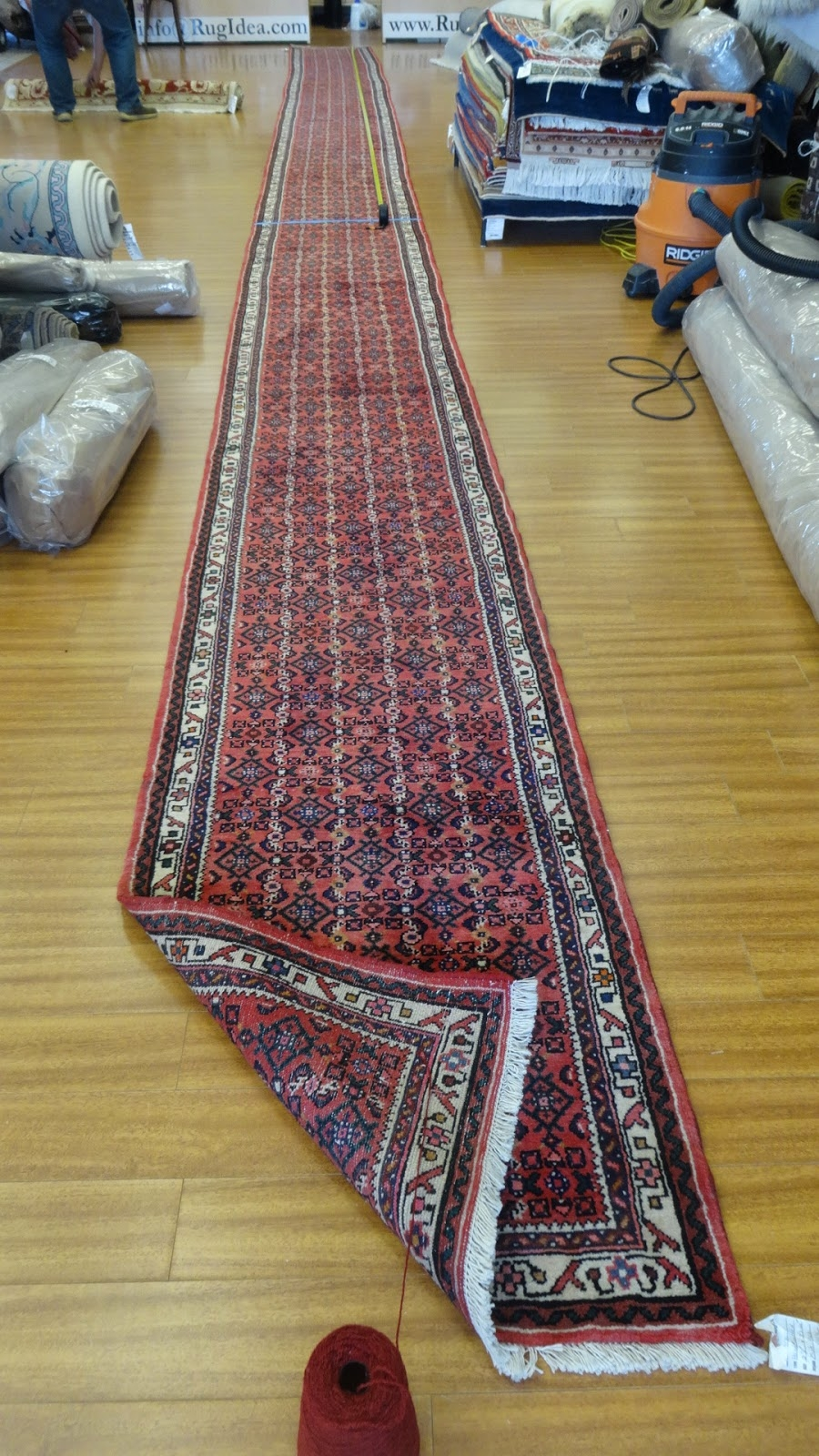 Rug Master A Long Hamedan Runner A Custom Made Job At Rug Ideas Pertaining To Custom Made Rug Runners (Image 14 of 15)