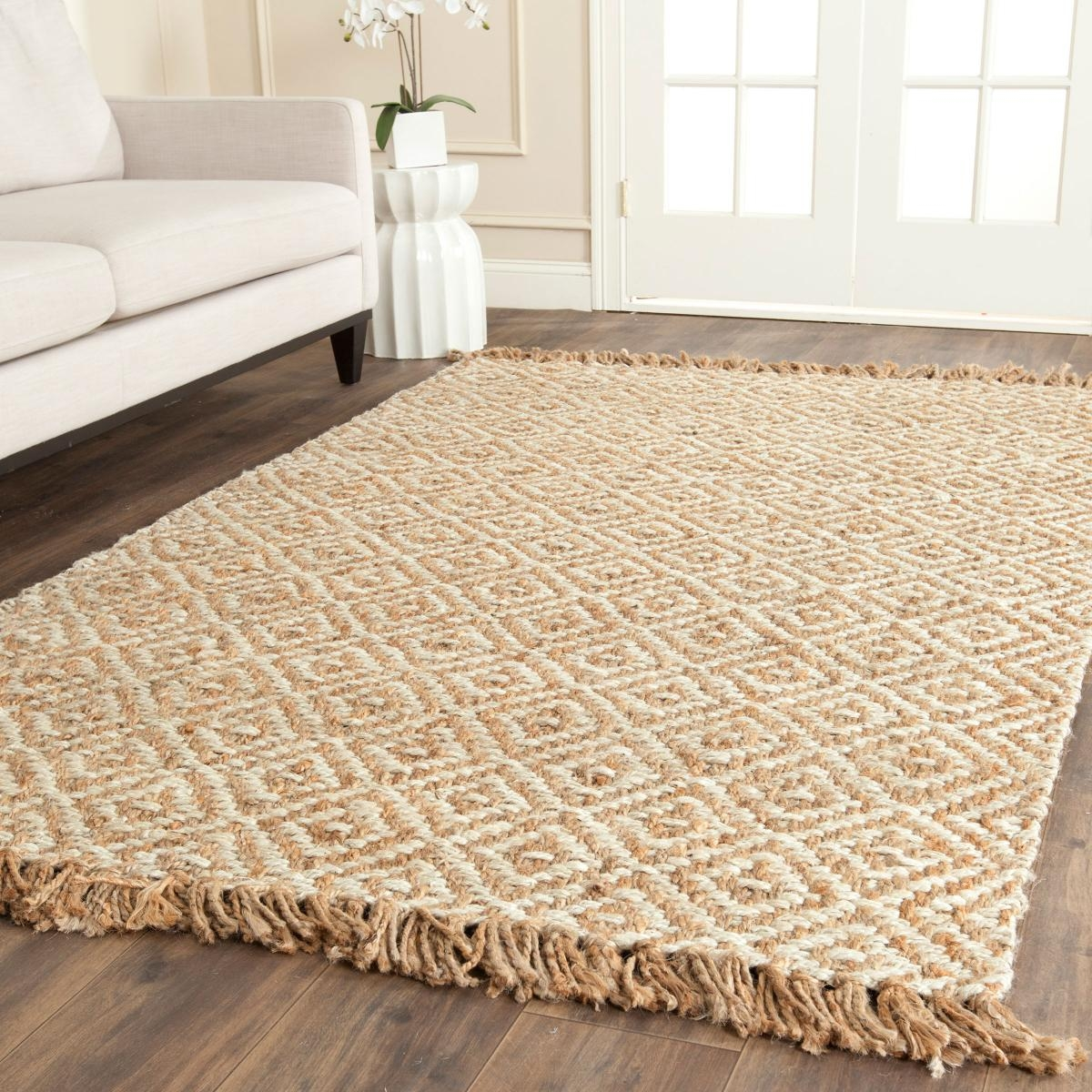 Rug Nf450a Natural Fiber Area Rugs Safavieh Pertaining To Natural Rugs (Photo 11 of 15)
