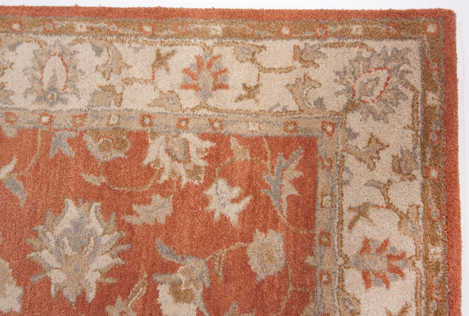 Rug Orange Area Rug 810 Wuqiangco In Orange Floor Rugs (Image 10 of 15)