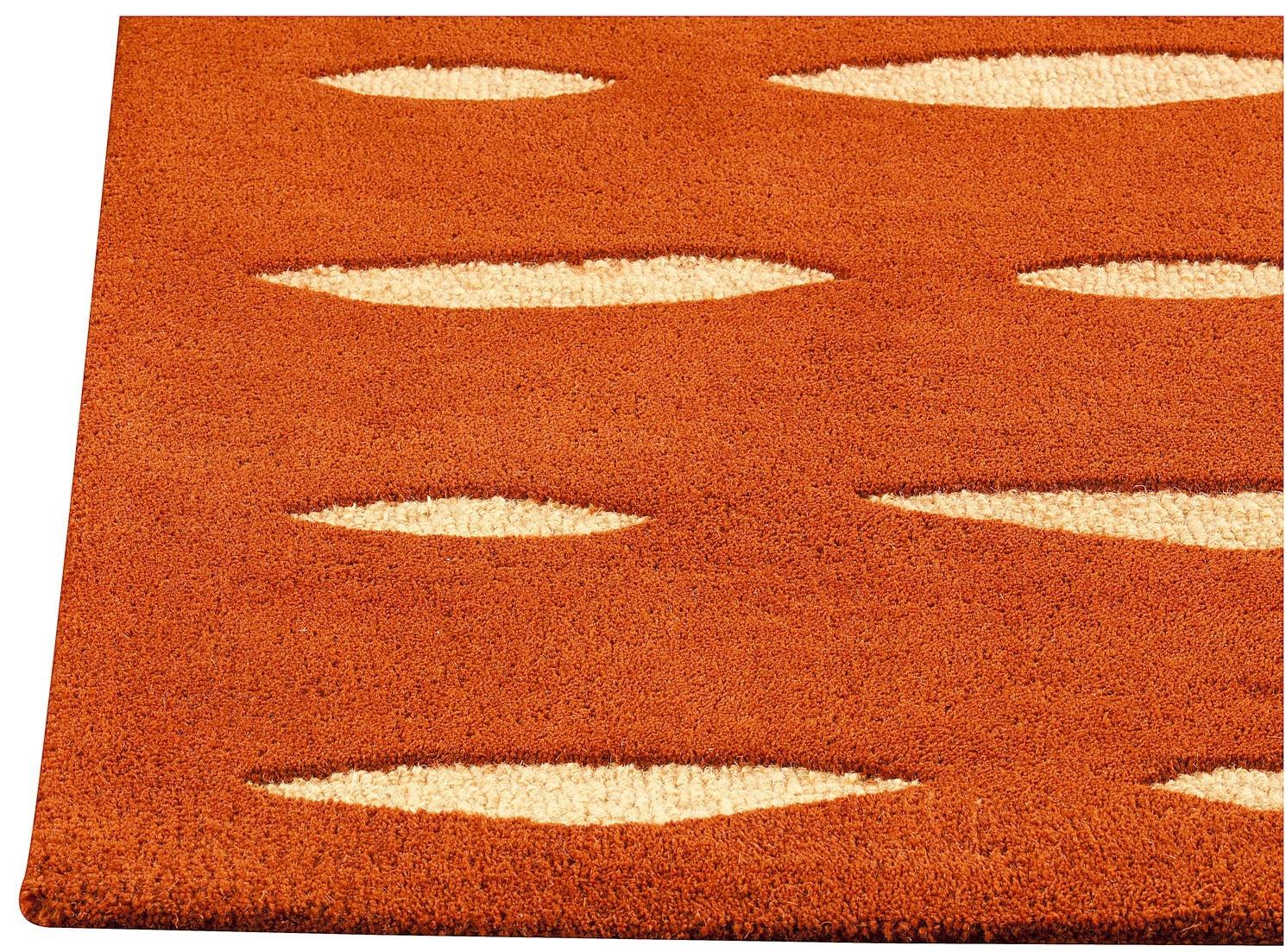 Rug Orange Area Rug 810 Wuqiangco Throughout Orange Floor Rugs (View 8 of 15)