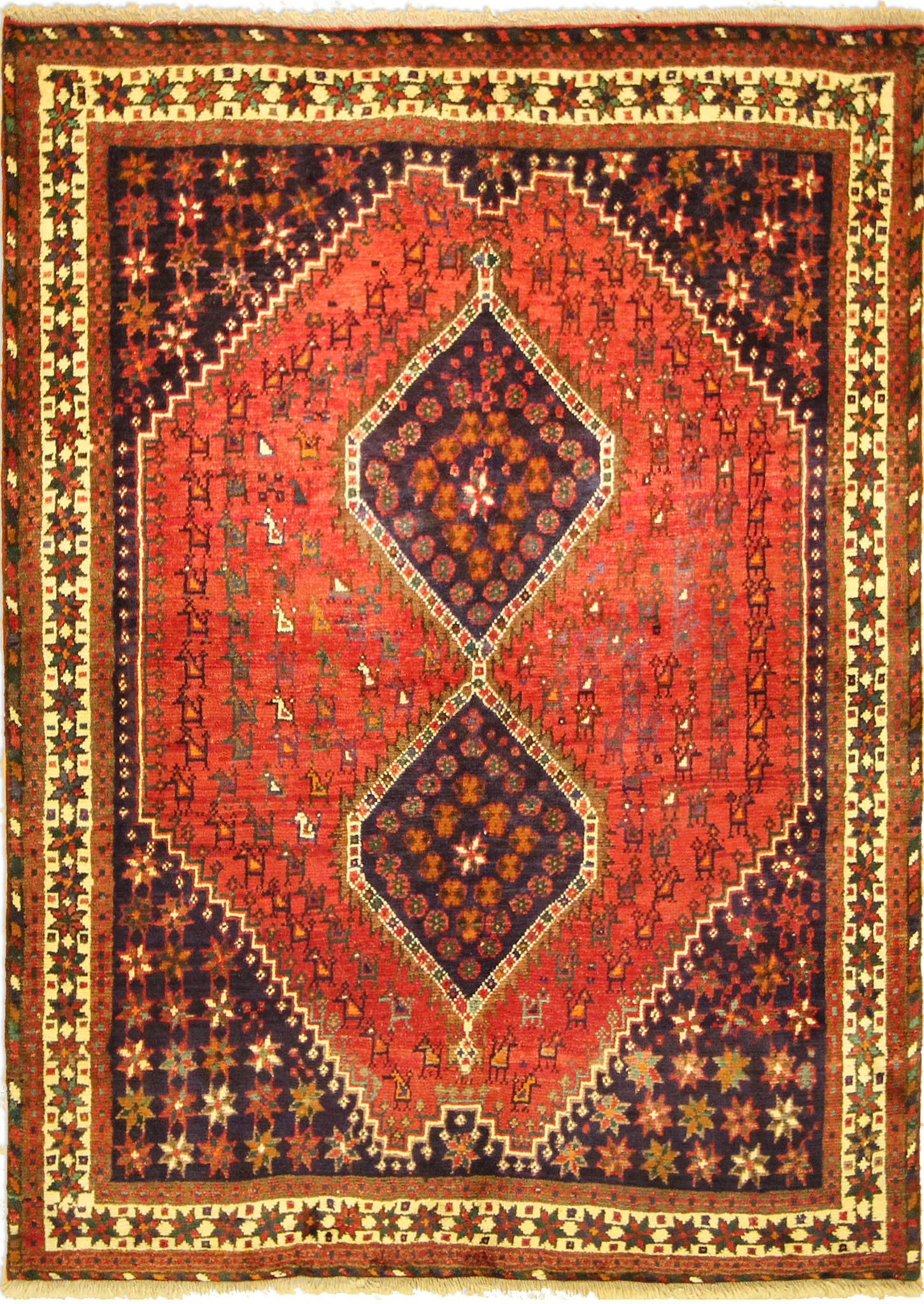 Rug Shiraz 200 X 145 Cm656 X 476 Ft Inside Traditional Carpets (Image 5 of 15)