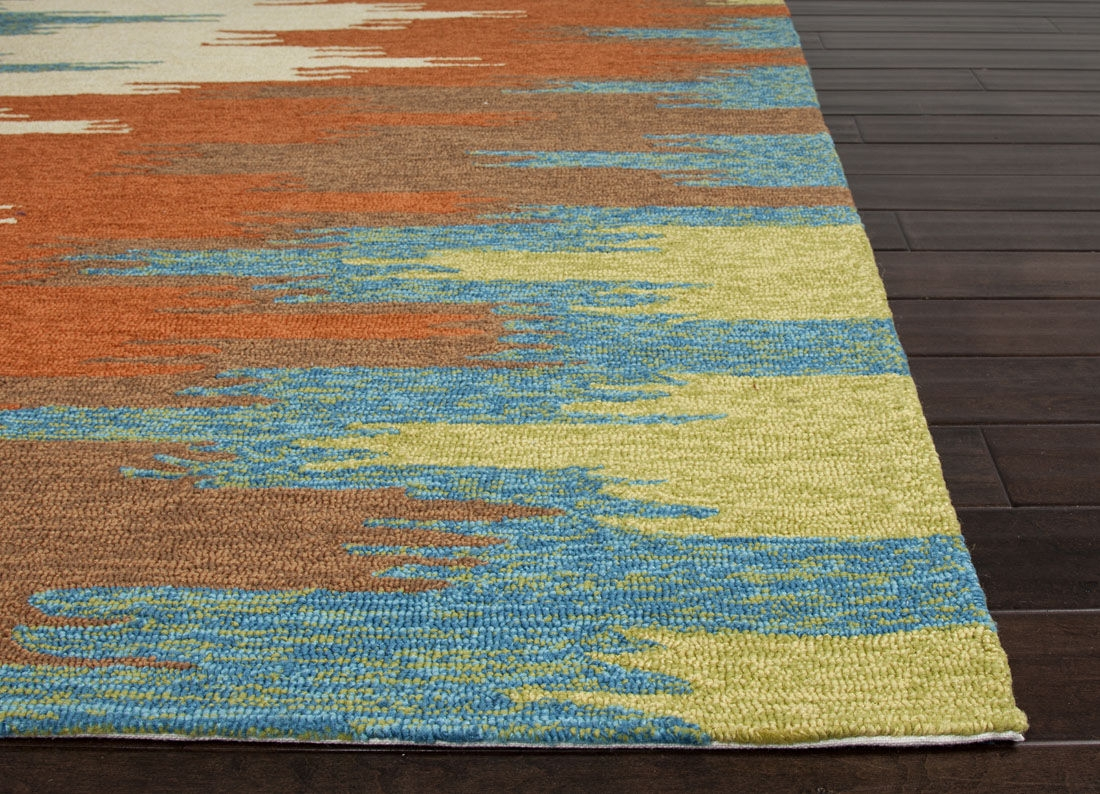 Rug Teal And Orange Area Rug Wuqiangco Pertaining To Orange Floor Rugs (Image 12 of 15)
