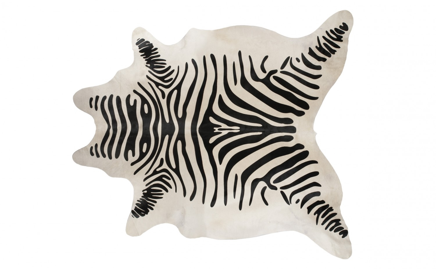 Rugs Animal Print Rug Cowhide Zebra Rug Zebra Skin Rug Within Zebra Skin Rugs (Image 8 of 15)