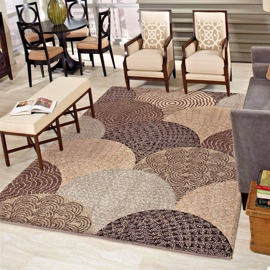 Rugs Area Rugs 8×10 Area Rug Living Room Rugs Modern Rugs Plush Pertaining To Thick Rugs (Image 3 of 15)