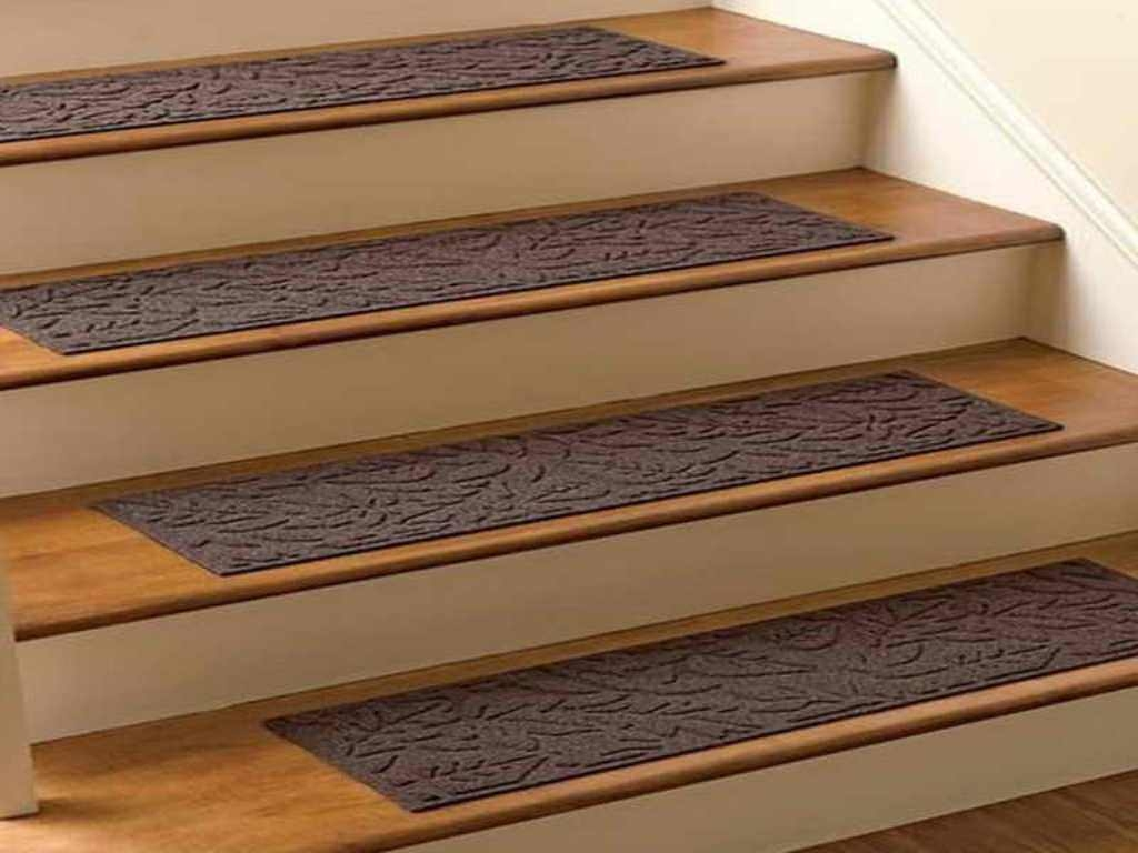 Rugs Carpet Elegant Carpet Stair Treads With Classic Pattern Regarding Stair Tread Rugs For Carpet (View 4 of 15)